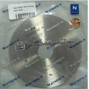 диск RSD-100 (R) HSS круглый Strong