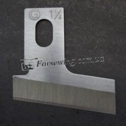 """нож B 2702-047-SOO 32mm 1-1/4"""", 70008, , Ножи для прорубки петель"""