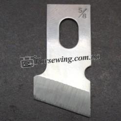 """нож B2702-047-MOO 16mm 5/8"""", 70002, , Ножи для прорубки петель"""