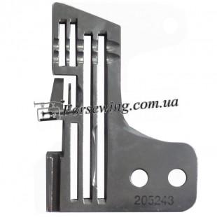 пластина игольная TYPICAL-205255 4-х нитка 2x4