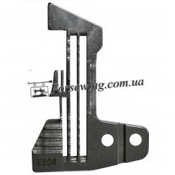 пластина игольная SIRUBA E-804 (4-х нитка), 11045, , Пластины для оверлока