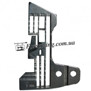 пластина игольная SIRUBA E-986 (5 X 5)