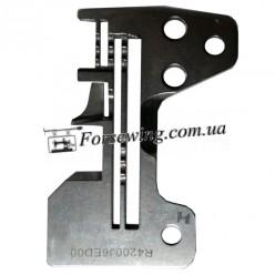 пластина игольная Juki 6704 R4200 J6E-DOO  3х нитка, 11002, , Пластины для оверлока