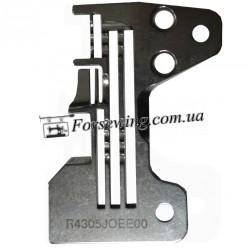 пластина игольная Juki 6714-2514 R4305 J6E-EOO 4х нитка 3 ряда, 11056, , Пластины для оверлока
