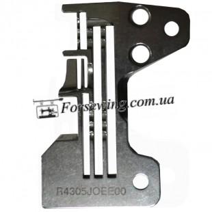 пластина игольная Juki 6714-2514 R4305 J6E-EOO 4х нитка 3 ряда