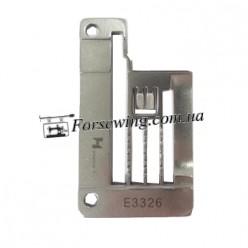 пластина игольная SIRUBA E3326 (5,6mm FQ) окантовка, 11030, , Пластины для распошивалки