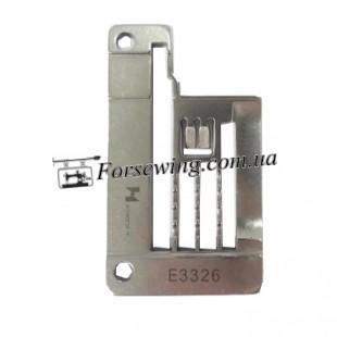 пластина игольная SIRUBA E3326 (5,6mm FQ) окантовка