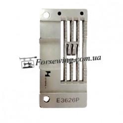 пластина игольная SIRUBA E3626P (5,6mm) запошив шва, 11106, , Пластины для распошивалки
