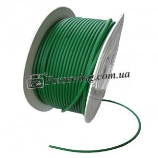 ремень каучуковый - красный (зеленый) 6 мм