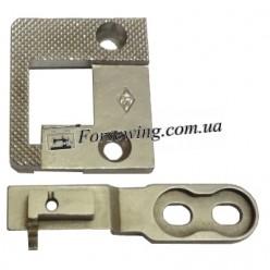 пластина игольная PFAFF-335 53005/53006 к-т, 11052, , Пластины для спец машин